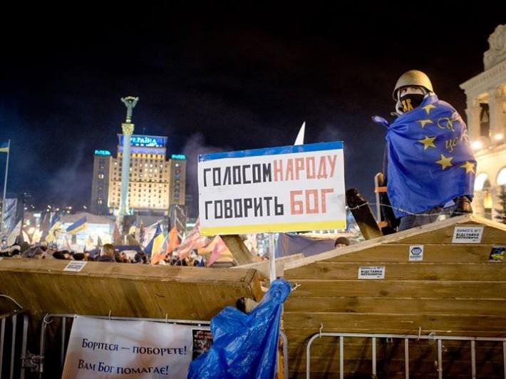 Віра і молитва були в центрі уваги учасників протестів на Майдані Незалежності