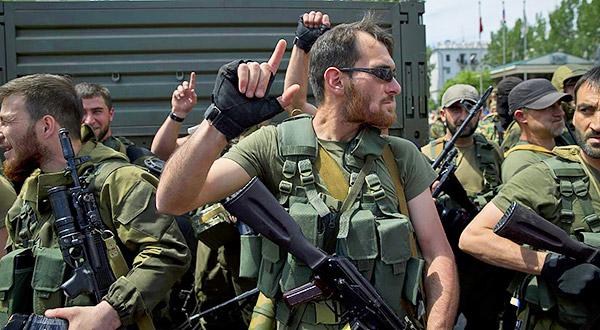 2-Donetsk-Donbass-Ukraine-Kadyrovtsy-gunmen-terrorist