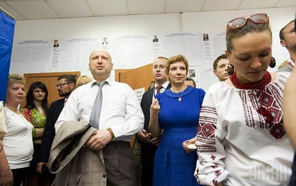 3-Turchynov-Kyiv-presidential-elections-Ukraine-2014