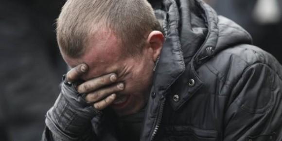 Сльози і скорбота від втрати польових побратимів, 20.02.2014