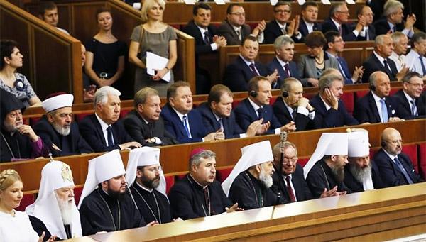 3-church-religious-leaders-Petro-Poroshenko-sworn-inauguration-President-Ukraine-MVasin